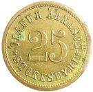 25 aurar (Olafur Arnason) – avers