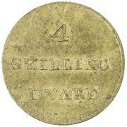 4 skilling (C. F. Siemsen) -  revers