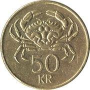 50 krónur -  revers