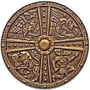 2 krónur (Althing) – revers