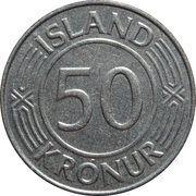 50 krónur (Souveraineté) – revers