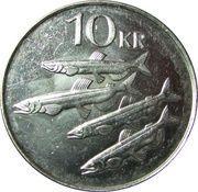 10 krónur (Magnétique) -  revers