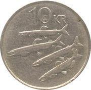 10 krónur (Non magnétique) -  revers