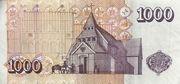 1000 Krónur – revers