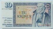 10 Krónur – avers