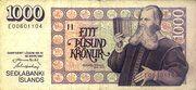 1000 Krónur – avers