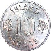 10 aurar -  revers