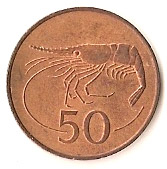 50 aurar – revers