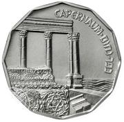 ½ Sheqel (Capernaum) – revers