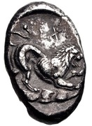 Stater (Issos) – revers
