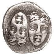 Drachm (Istros) – avers