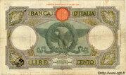 100 Lire – revers