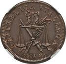 1 soldo, 10 denari - Napoleon – avers