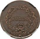 1 soldo, 10 denari - Napoleon – revers