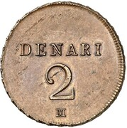 2 denari - Napoleon Bonaparte (Essai) – revers