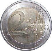 2 euros JO 2006 Jeux d'hiver de Turin -  revers