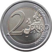 2 euros Giovanni Pascoli -  revers