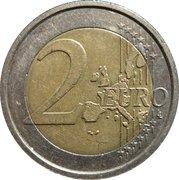 2 euros Constitution européenne -  revers