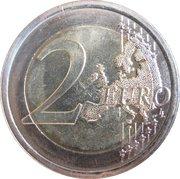 2 euros Giuseppe Verdi -  revers