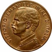 5 centesimi Victor-Emmanuel III – avers
