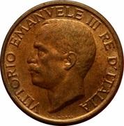 10 centesimi Victor-Emmanuel III – avers