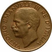 5 centesimi Victor-Emmanuel III -  avers