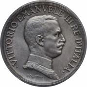 5 Lire - Vittorio Emanuele III (Prova) – avers
