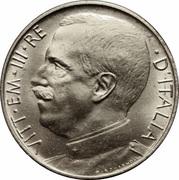 50 centesimi Victor-Emmanuel III – avers