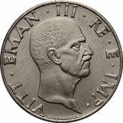 50 centesimi Victor-Emmanuel III (magnétique) -  avers