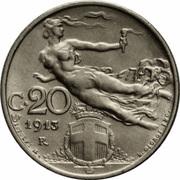 20 centesimi -  revers