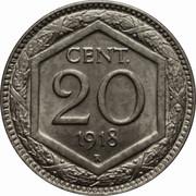 20 centesimi – revers