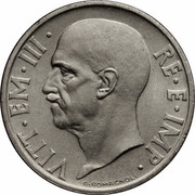 20 centesimi Victor-Emmanuel III – avers
