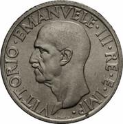 1 lire Victor-Emmanuel III – avers