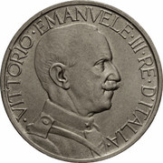 2 lires Victor-Emmanuel III -  avers