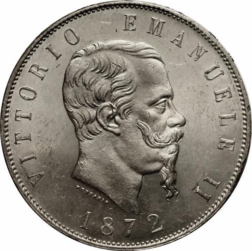 piece de monnaie vittorio emanuele 2 1874