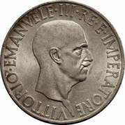 10 lires Victor-Emmanuel III – avers