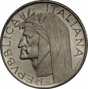 500 Lire (Dante Alighieri - PROVA) – avers
