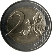 2 euros Carabiniers -  revers