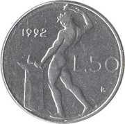 50 lires (petit module) -  revers