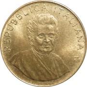 200 lires Maria Montessori et la FAO -  avers