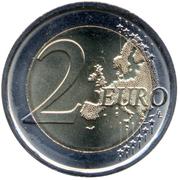 2 euros Dante Alighieri -  revers