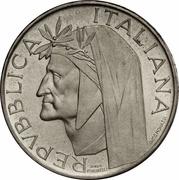 500 lires Dante – avers