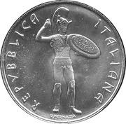 500 lires Culture Etrusque – avers