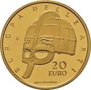 20 euros Suède – revers