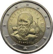 2 euros Galilée -  avers
