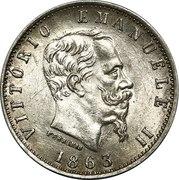 20 centesimi Victor-Emmanuel II – avers