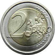 2 euros Plaute -  revers