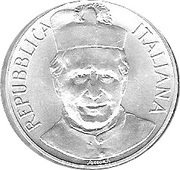 500 lires San Giovanni Bosco – avers