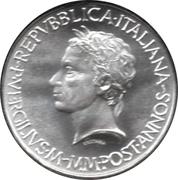 500 lires Virgil – avers