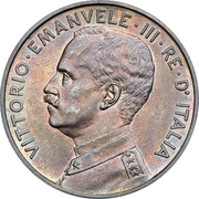10 Centesimi - Vittorio Emanuele III – avers